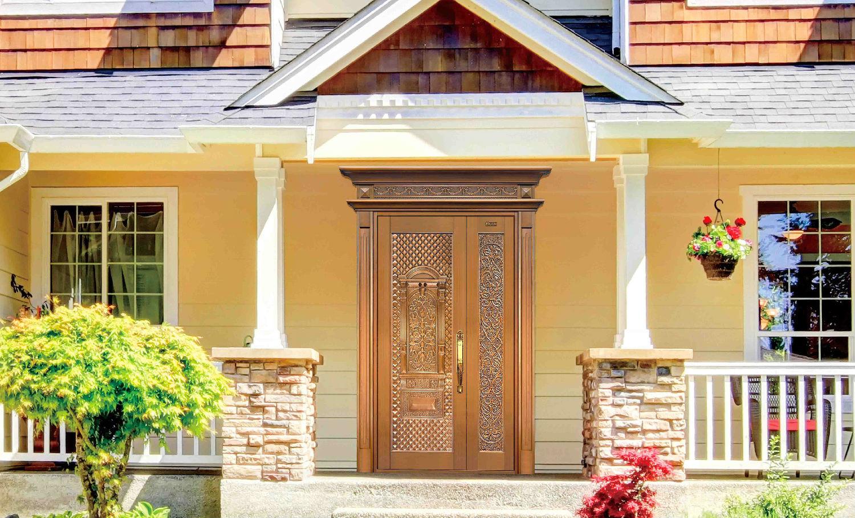 別墅銅門,銅門,別墅大門,別墅裝修設計,別墅入戶門